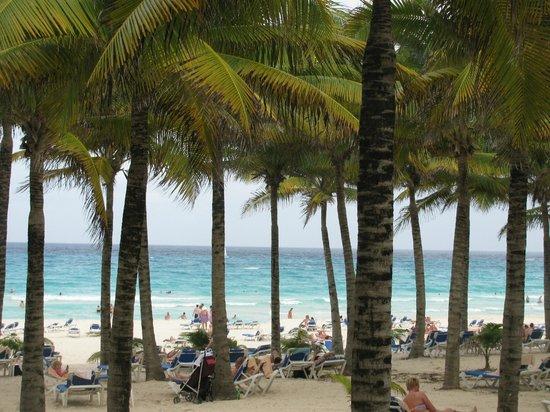 Hotel Riu Palace Riviera Maya: Beach View on the beach