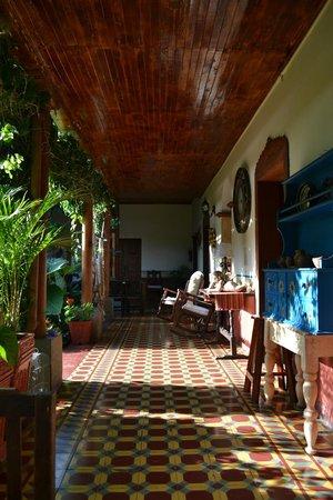 Hotel Palacio Chico 1850 : Desayunando