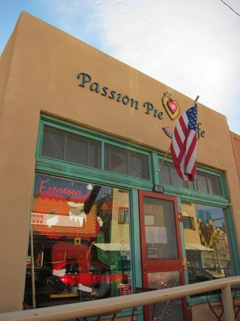 Passion Pie Cafe : Outside