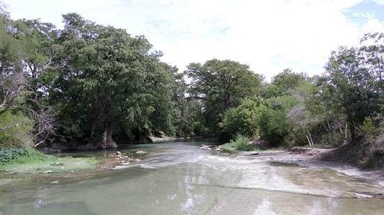 Medina River: the River