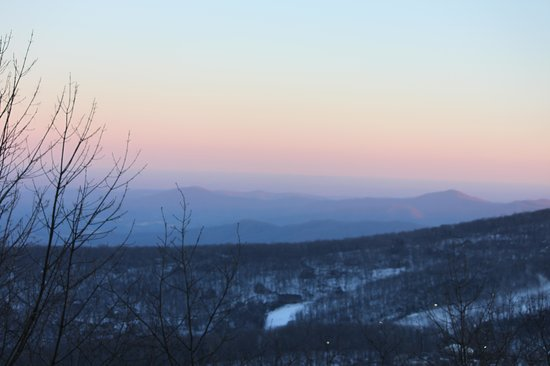 Wintergreen Resort: View from the balcony