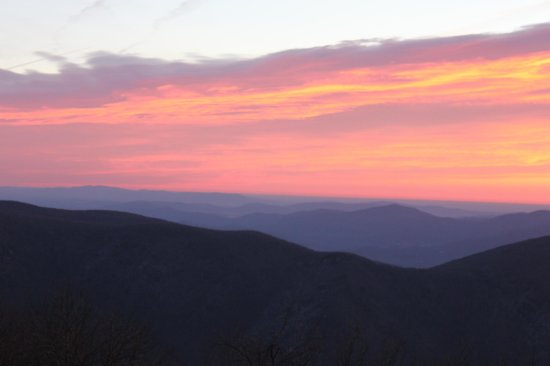 Wintergreen Resort: Sunrise ala Wintergreen