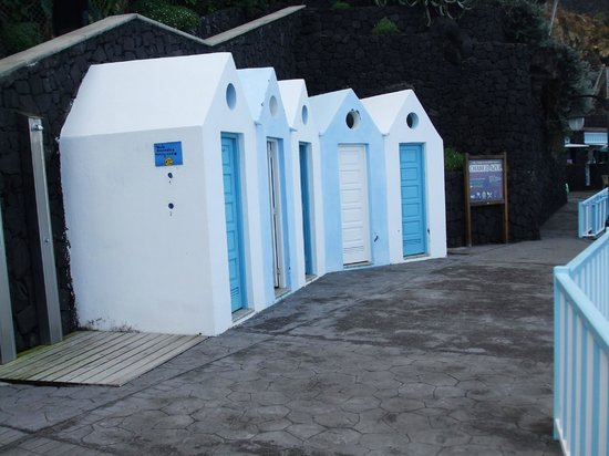 Charco Azul: Changing rooms
