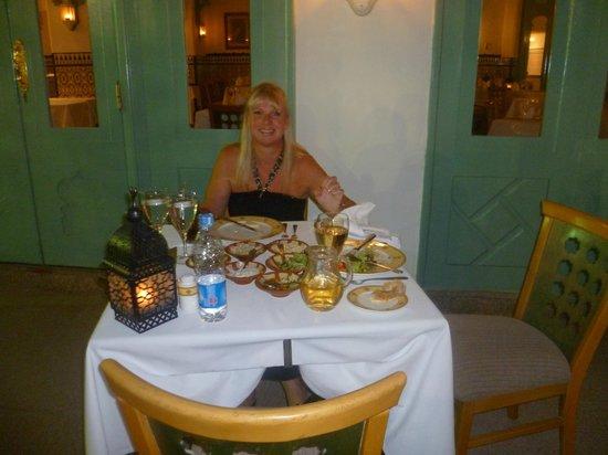 Baron Resort Sharm El Sheikh : egyptian restaurant