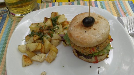 Sabe Rico: Hamburguesa de cangrejo con papas