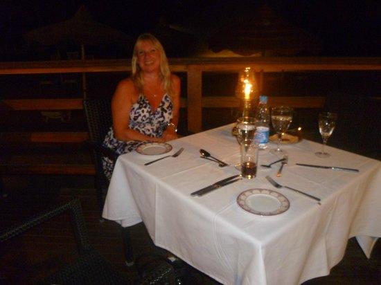 Baron Resort Sharm El Sheikh : indian restaurant on the beach