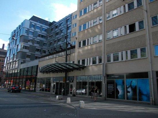 Hotel C Stockholm: Entrada