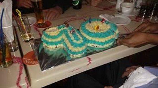 Tea For Two Grandad 90th Birthday Cake
