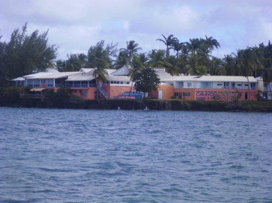 Carayou Hotel & Spa: vue de l'hotel