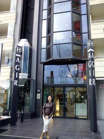 Hotel Agir: La entrada