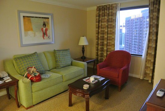 Marriott's Grand Chateau: Living room