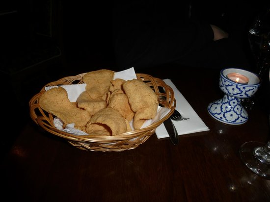 Baan Thai Ballsbridge: Prawn cracker
