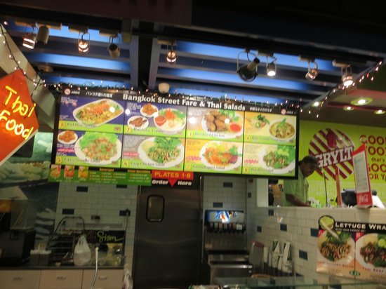 Plenty of fast food to choose from picture of ala moana for Plenty of fish oahu