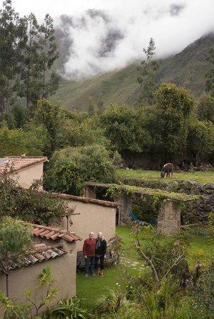 El Albergue Ollantaytambo: in the hotel farm/garden