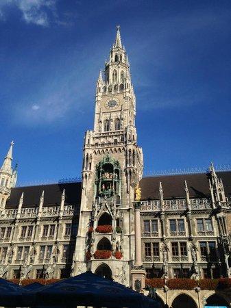Marienplatz: Glockenspiel