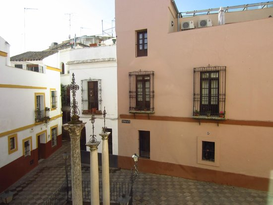 Apartamentos Las Cruces : view from our apartment