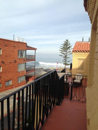 Pantai Inn : View from our front door