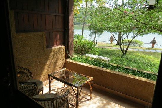 Fragrant Nature Backwater Resort & Ayurveda Spa: the terrace