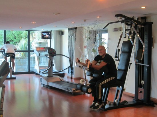 palestra attrezzata - Picture of Roseo Euroterme Wellness Resort ...