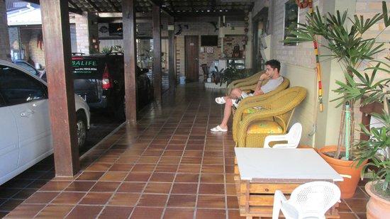 Hotel Pousada Silene: pasillo q va al comedor