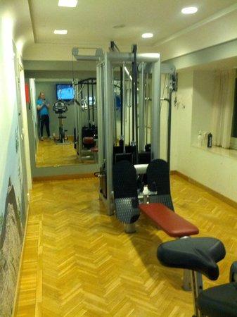 Scandic Sergel Plaza: Gymmet