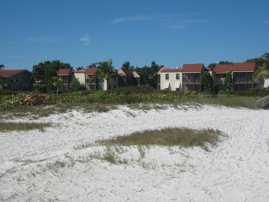 Sanibel Moorings: View from the Beach