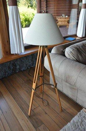 Quincho Casa Hotel : Preciosa lámpara en el living