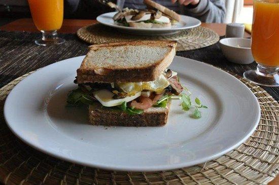 Quincho Casa Hotel : Almuerzo rápido antes del aeropuerto