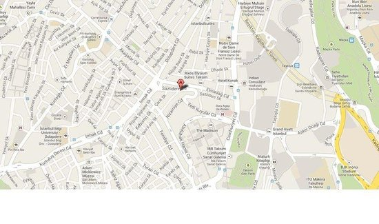Caratpark Hotel : Map