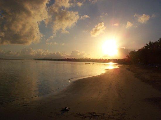 Grand Bahia Principe El Portillo: lever soleil