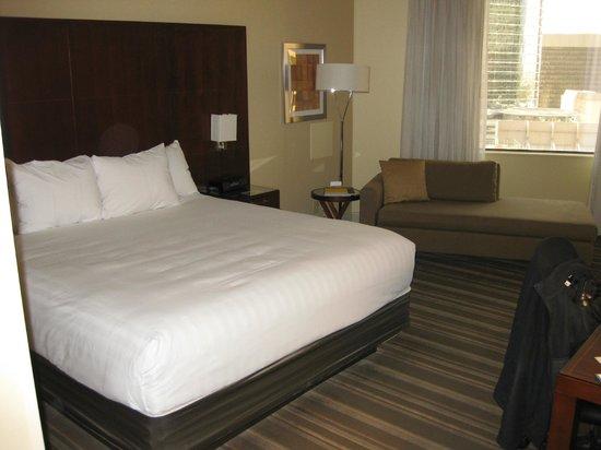 Hyatt Regency Houston : RM 2116 - King Room (off the Atrium)
