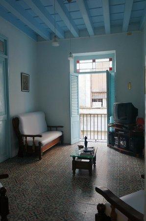 Casa Vieja 1840: Living room