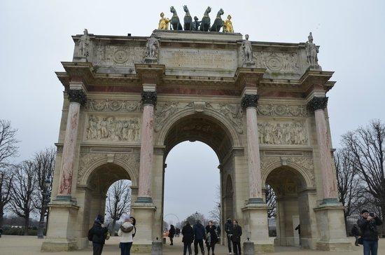 Arc de Triomphe du Carrousel: Lindo!