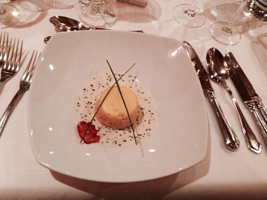 Klein Fein Hotel Viertlerhof: souffle di formaggio