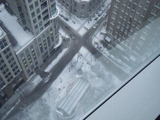 Sofitel Chicago Magnificent Mile: view from 26th floor