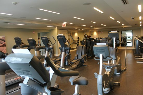 The Blackstone, Autograph Collection: Gym with an amazing view of Lake Michigan!
