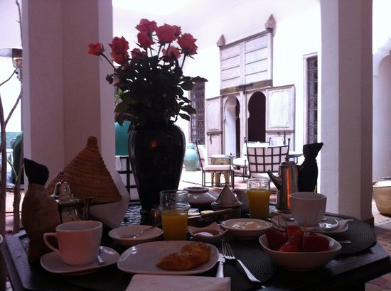 Riad Altair: Morning to' marrakech