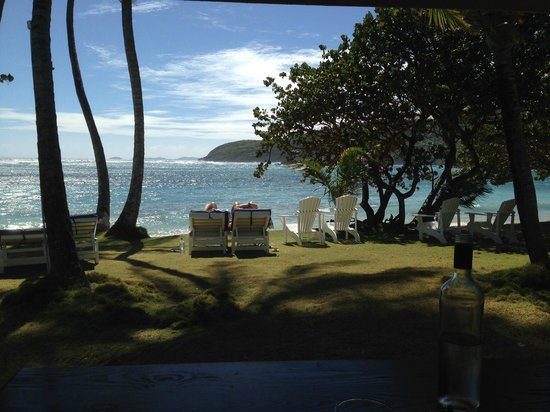 Sugar Reef Cafe: The view from our table, beautiful