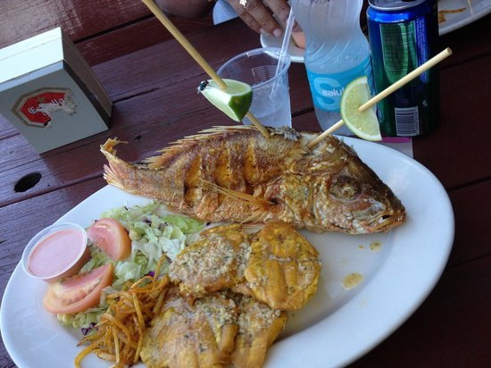 Karambola Ocean View : Uno de los platos del restaurante