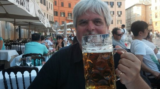 Bar Tre Scalini : Nada como una buena cerveza