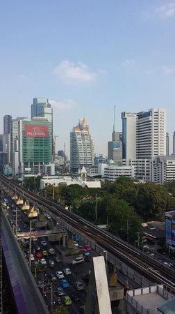 Mode Sathorn Hotel: View from the Pool