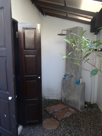 The Old Phuket: outdoor shower