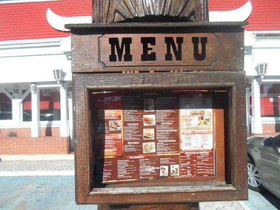 Le menu l 39 entr e du restaurant picture of buffalo grill ollioules tripadvisor - Menu buffalo grill tarif ...