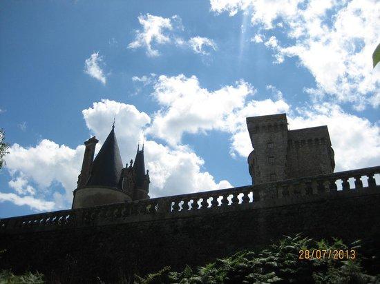 Chateau de la Flocelliere : Le chateau walls