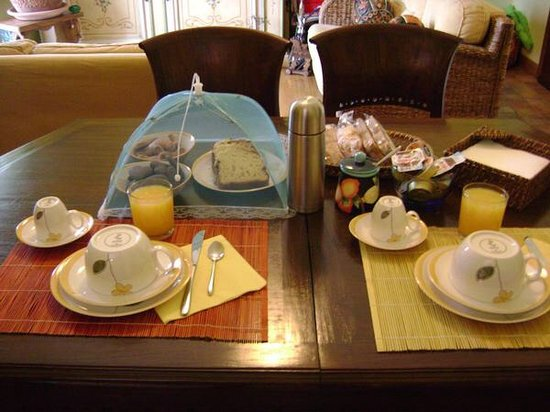 B&B SoleLuna: La nostra colazione