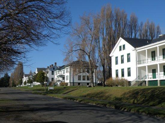 Fort Worden State Park: barracks