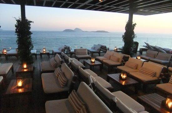 Hotel Fasano Rio de Janeiro: Rooftop bar