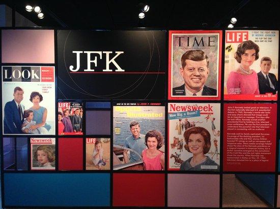 Newseum: The JFK Exhibit