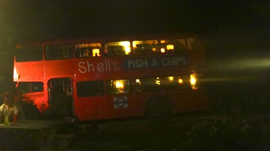 Shell's Double Decker Fish & Chips : il bus