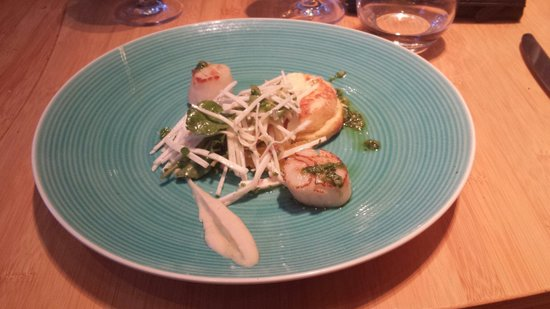 Sprout Dining: Scallops